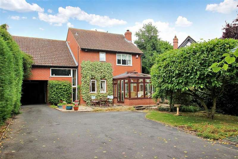 4 Bedrooms Detached House for sale in Hampton Park Road, Hereford