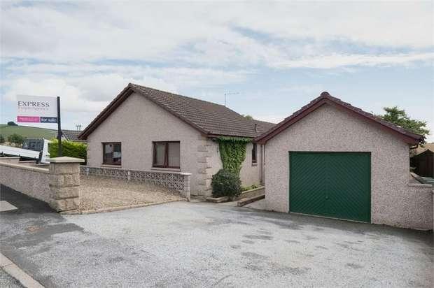 3 Bedrooms Detached Bungalow for sale in Causewayend Crescent, Aberchirder, Huntly, Aberdeenshire