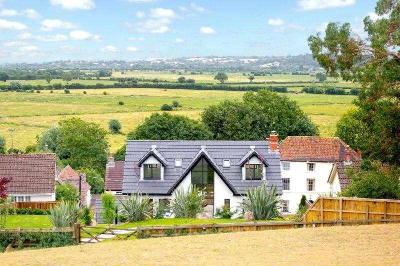 5 Bedrooms Detached House for sale in Old Coach Road, Cross, Axbridge, North Somerset, BS26