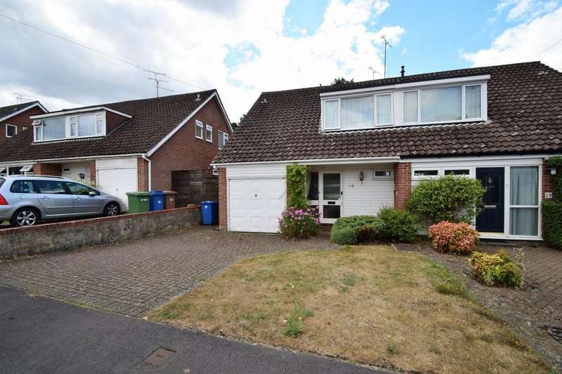 3 Bedrooms Semi Detached House for sale in Cheviot Road, Sandhurst