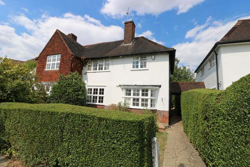 3 Bedrooms Semi Detached House for sale in Brookland Rise, Hampstead Garden Suburb