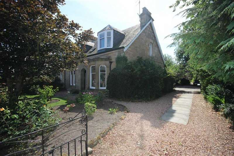 4 Bedrooms Semi Detached House for sale in Sefton Cottage, Carslogie Road, Cupar, Fife, KY15