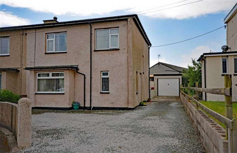 3 Bedrooms Semi Detached House for sale in Summer Hill, Bootle, Cumbria