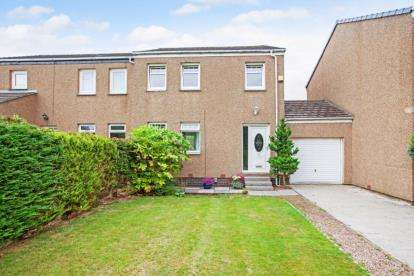 3 Bedrooms Semi Detached House for sale in Braeside, Girdle Toll, Irvine, North Ayrshire