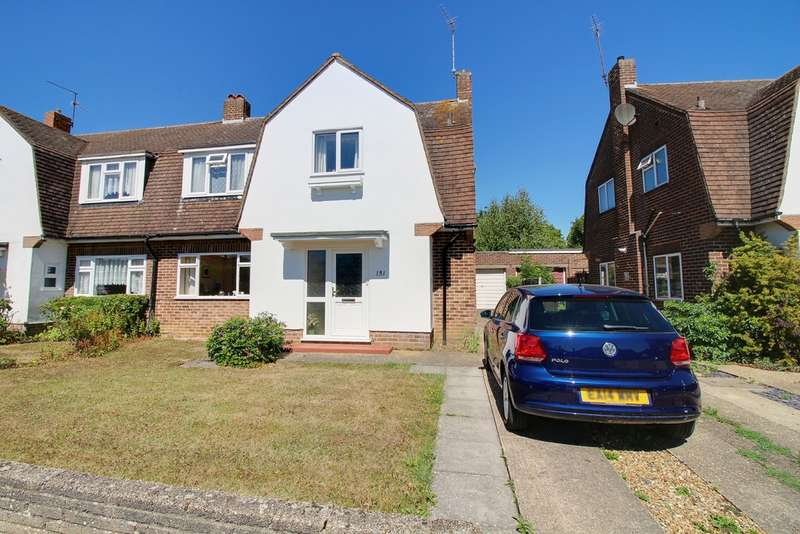 3 Bedrooms Semi Detached House for sale in The Avenue, Hertford