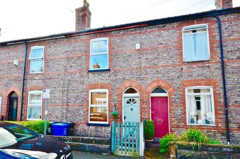 2 Bedrooms Terraced House for sale in Brunswick Road, Altrincham