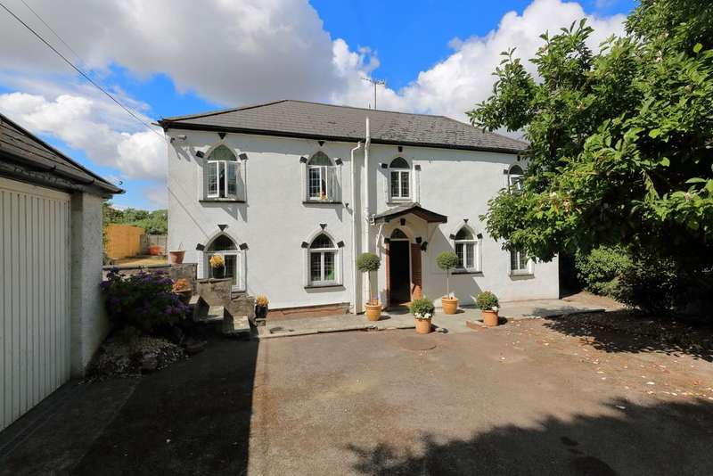 5 Bedrooms Detached House for sale in Llantrisant, Usk