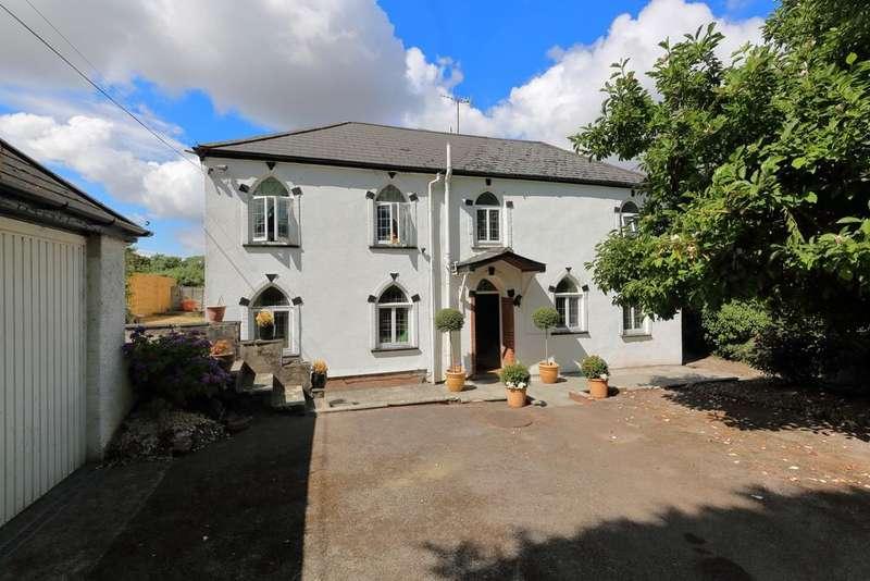 5 Bedrooms Detached House for sale in Llantrisant, Usk