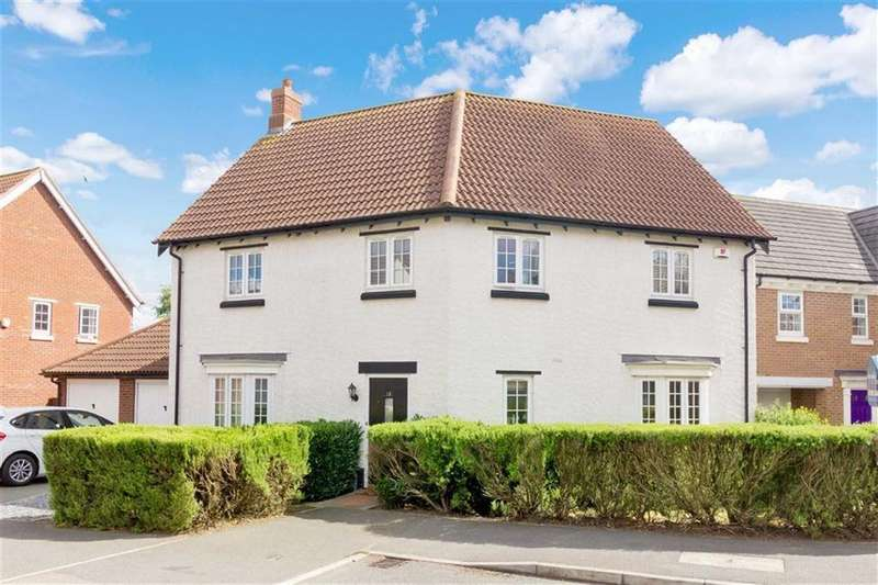 4 Bedrooms Detached House for sale in Roman Close, Barrow Upon Soar, LE12