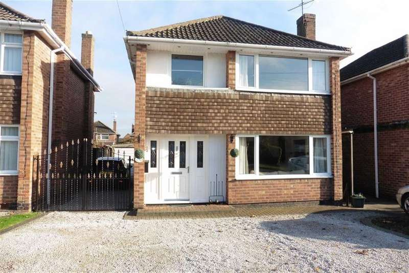 3 Bedrooms Detached House for sale in John Bold Avenue, Stoney Stanton