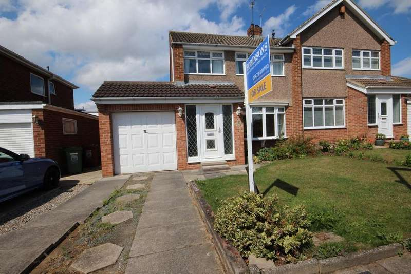 3 Bedrooms Semi Detached House for sale in Spalding Road, Fens, Hartlepool