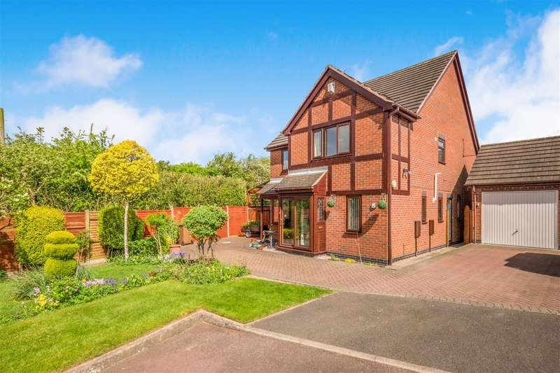 4 Bedrooms Detached House for sale in Brechin Close, Arnold, Nottingham