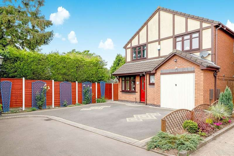 4 Bedrooms Detached House for sale in Damson Court, Hinckley, LE10