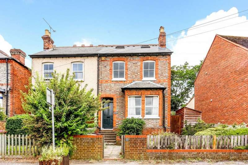 4 Bedrooms Semi Detached House for sale in Hemdean Rise, Caversham, Reading, RG4