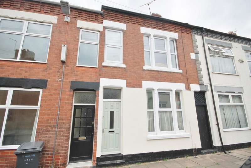 3 Bedrooms Terraced House for sale in Hawthorne Street, Newfoundpool, Leicester LE3