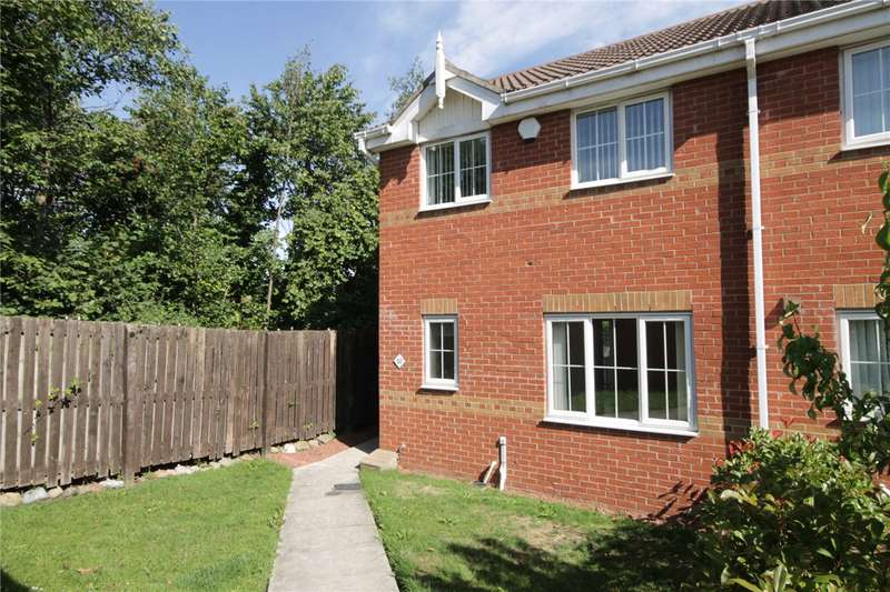 3 Bedrooms Semi Detached House for sale in Oakwell Court, Hamsterley, Newcastle-Upon-Tyne, NE17
