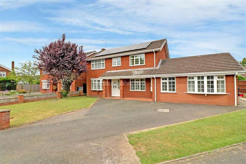 5 Bedrooms Detached House for sale in Plover Avenue, Winsford