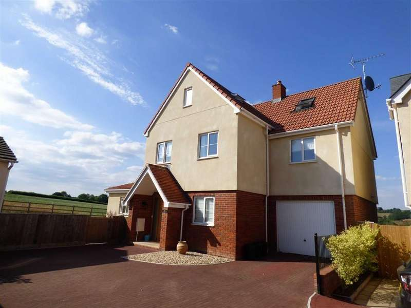 4 Bedrooms Detached House for sale in Cordwents View, Halberton, Tiverton, Devon, EX16