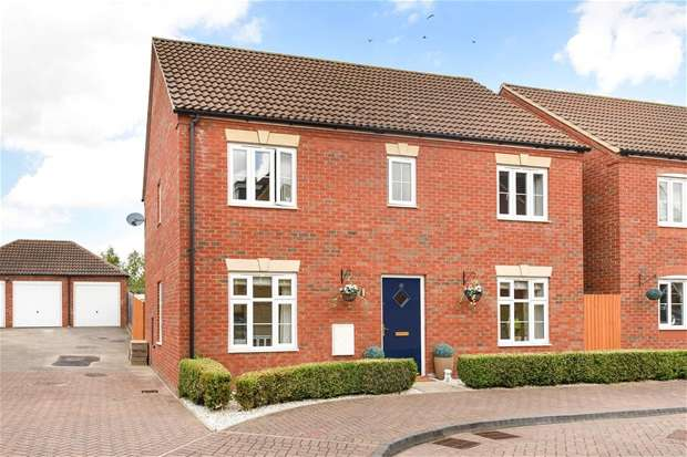 4 Bedrooms Detached House for sale in Russet Close, Bedford