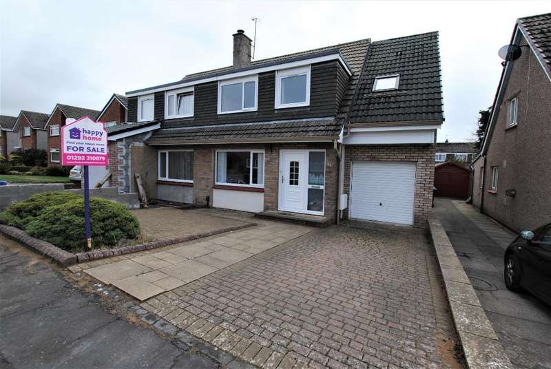 4 Bedrooms Semi Detached House for sale in Leven Road, Troon, South Ayrshire, KA107DX