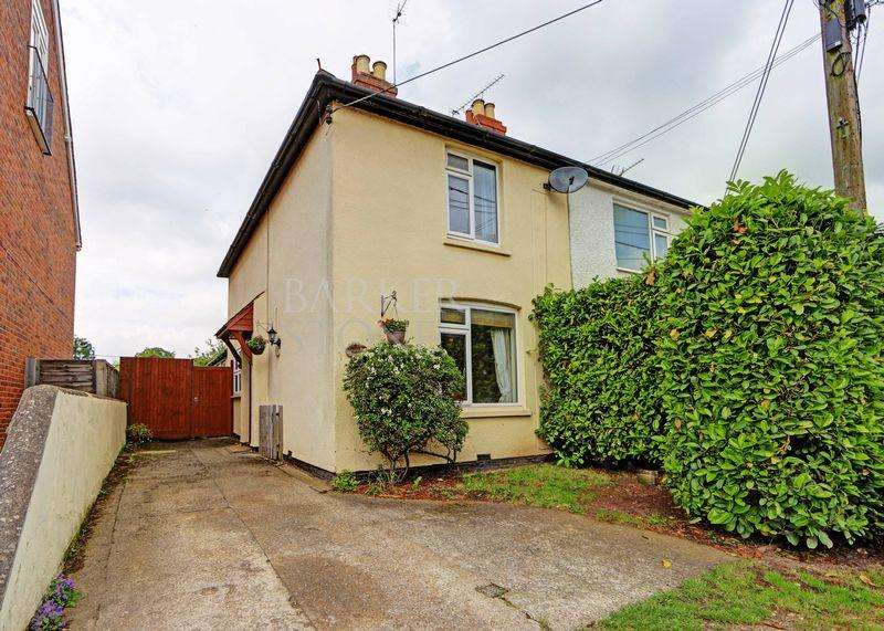 2 Bedrooms Semi Detached House for sale in Graham Road, Cookham