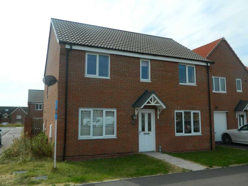 4 Bedrooms Detached House for sale in Crucible Close, North Hykeham off station road.