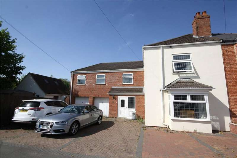 4 Bedrooms Semi Detached House for sale in Grantham Road, Sleaford, Lincolnshire, NG34
