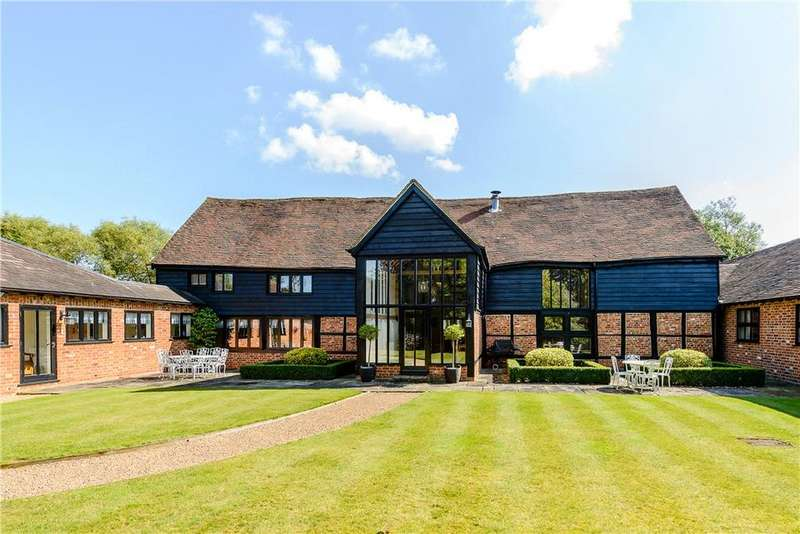 5 Bedrooms Detached House for sale in Smewins Road, White Waltham, Maidenhead, Berkshire, SL6