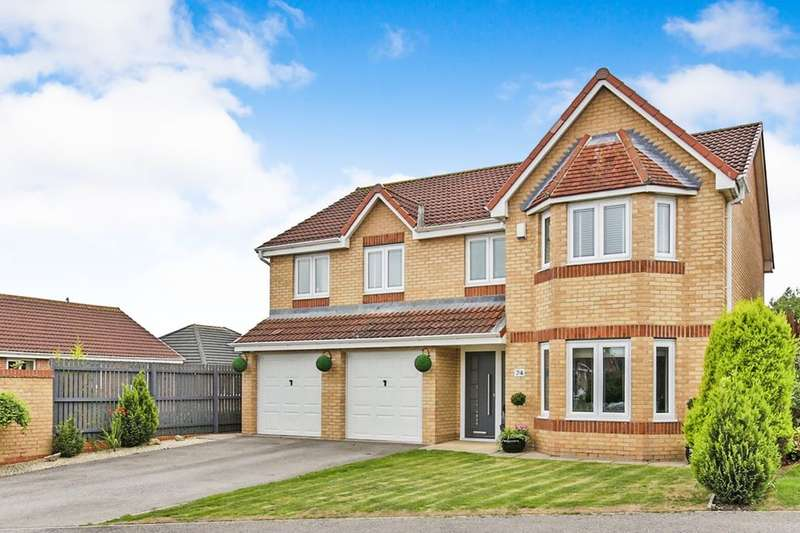 5 Bedrooms Detached House for sale in Langdon Close, Consett, DH8