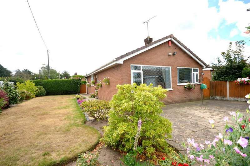 3 Bedrooms Detached Bungalow for sale in Pear Tree Close, Sandbach