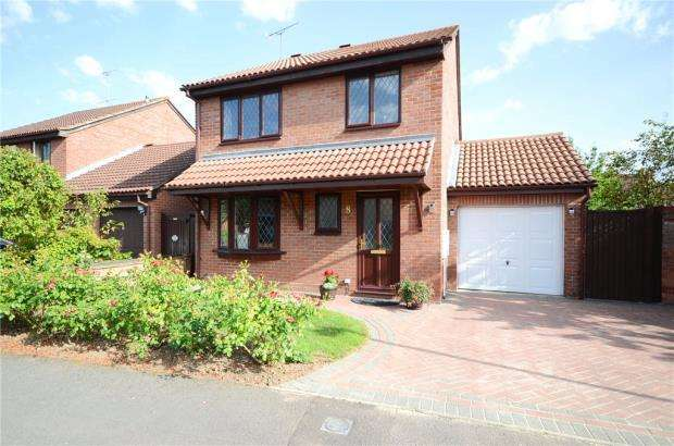 4 Bedrooms Detached House for sale in Adwell Drive, Lower Earley, Reading