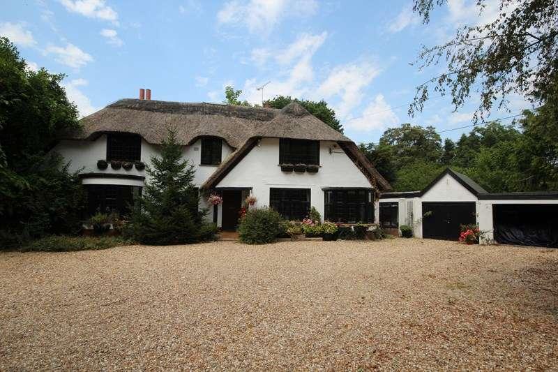 5 Bedrooms Detached House for sale in Salisbury Road, Blashford, RINGWOOD