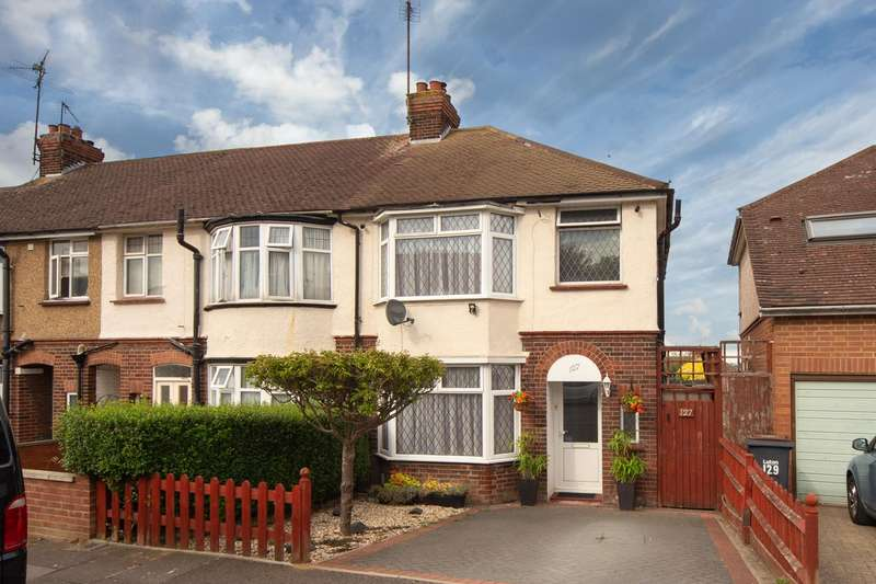3 Bedrooms End Of Terrace House for sale in Harcourt Street, Luton
