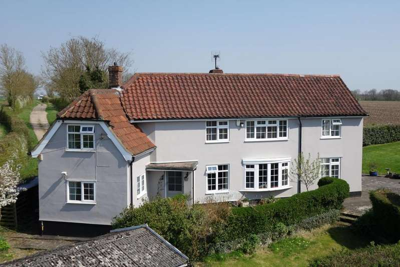 4 Bedrooms Detached House for sale in Kedington Road, Calford Green, Suffolk