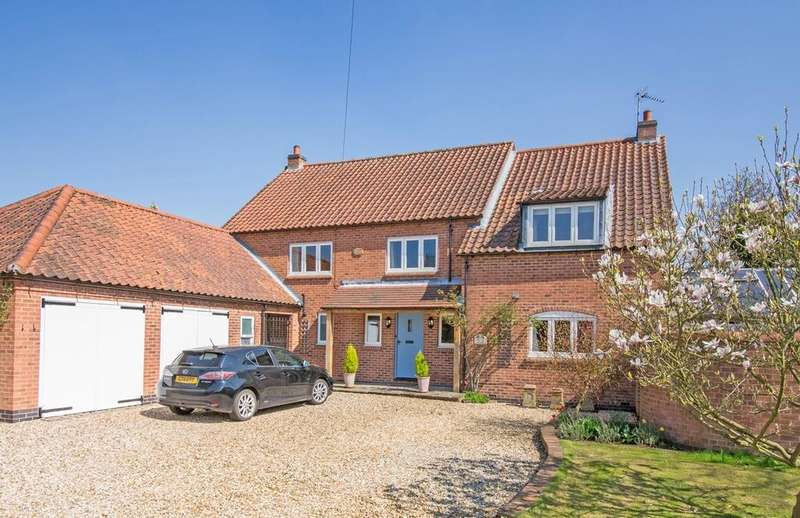 5 Bedrooms Detached House for sale in The Old Police House, Main Street, Oxton, Nottinghamshire NG25 0SD
