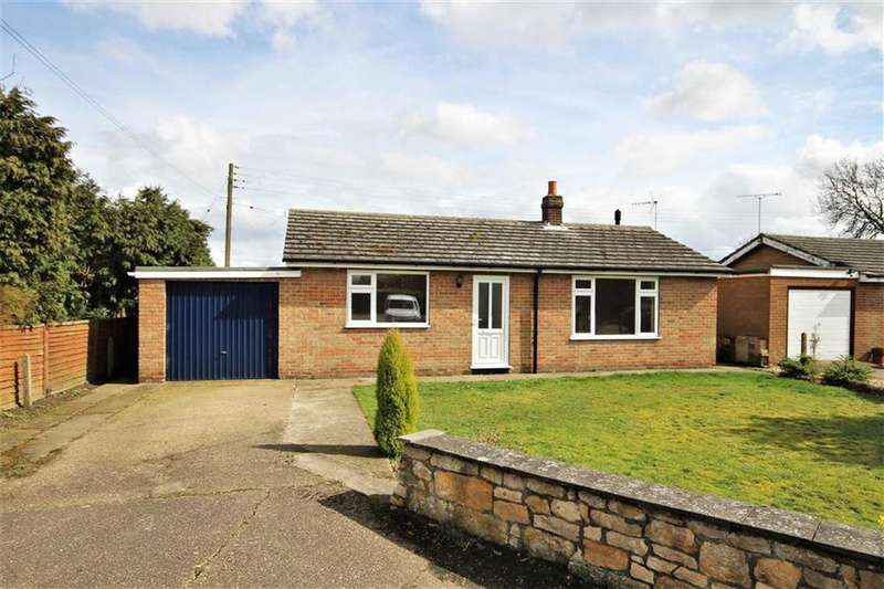 2 Bedrooms Detached Bungalow for sale in Eastfield, Bassingham, Lincoln, Lincolnshire