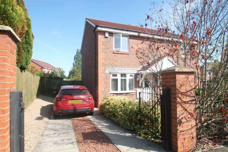 2 Bedrooms Semi Detached House for sale in Ladyfern Way, Norton