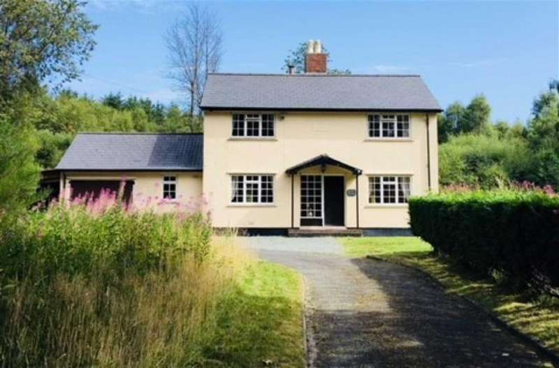 3 Bedrooms Detached House for sale in Forest Lodge, Llwynygog, Llanbrynmair, Powys, SY19