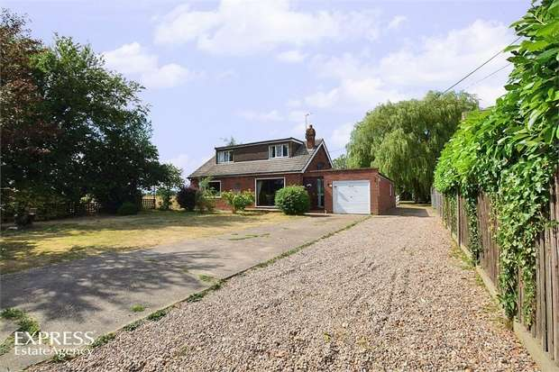4 Bedrooms Detached House for sale in School Lane, Broadholme, Lincoln