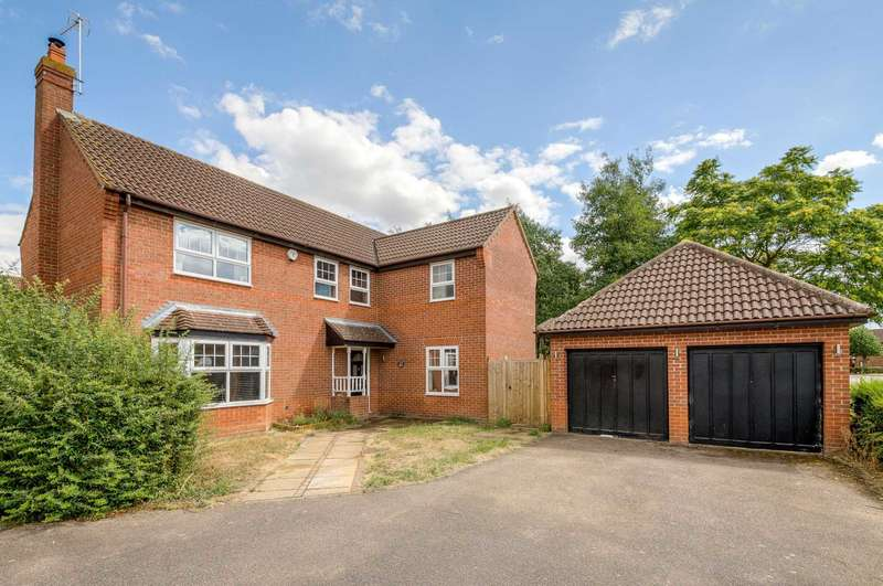 4 Bedrooms Detached House for sale in Mapledurham, Caldecotte