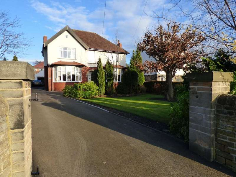 4 Bedrooms Detached House for sale in Parker Lane, Mirfield, WF14 9NY