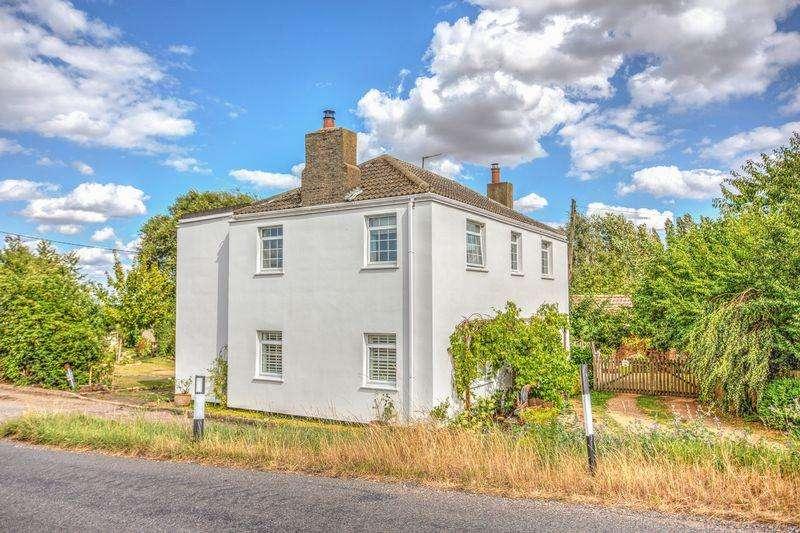 4 Bedrooms Detached House for sale in Suspension Bridge, Welney