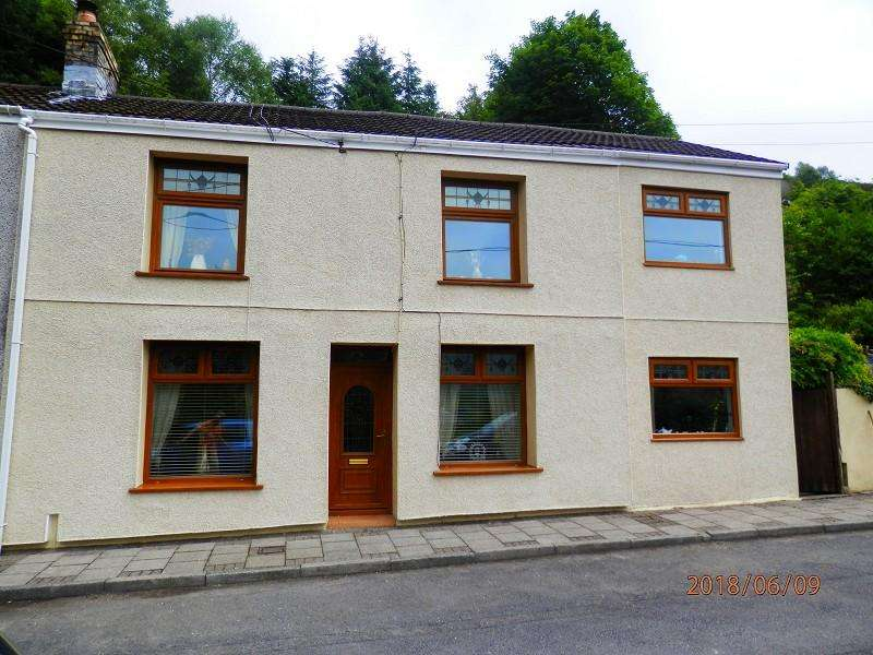 3 Bedrooms Semi Detached House for sale in Churchfield Row, Pentre, Rhondda Cynon Taff. CF41 7PL