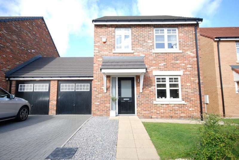 3 Bedrooms Detached House for sale in Colliery Mews, Boldon Colliery