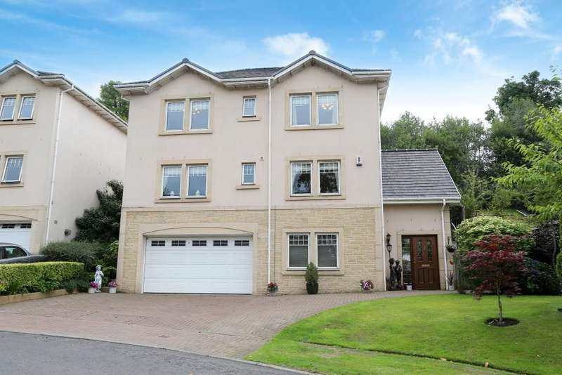 4 Bedrooms Detached House for sale in 4 Bramble Wynd, Castlebank, PA14 6RB