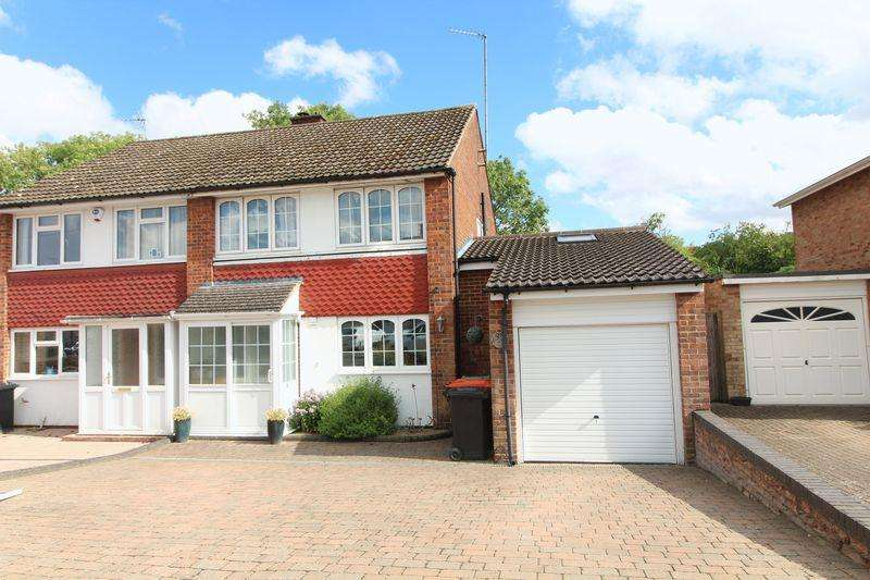 4 Bedrooms Semi Detached House for sale in Extended family home in South West Dunstable
