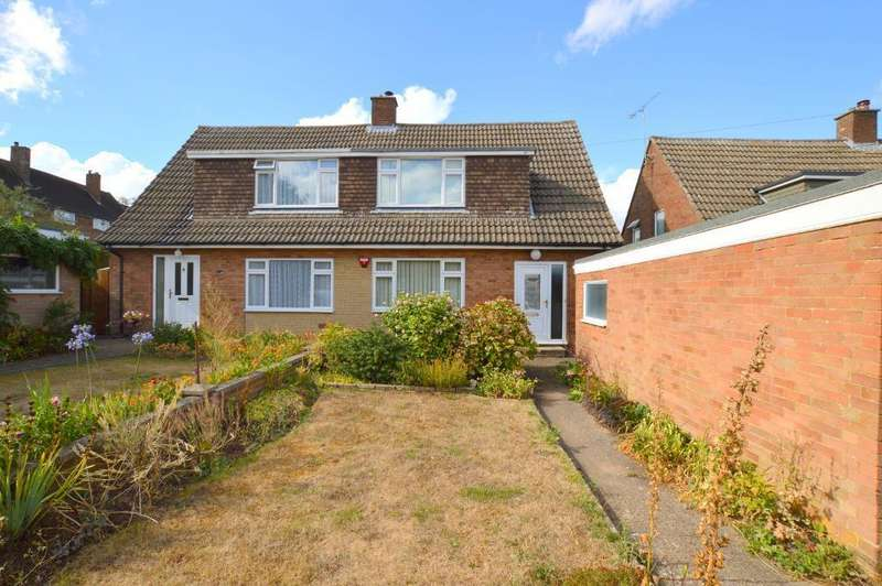 2 Bedrooms Semi Detached House for sale in Stanley Road, Streatley, LU3 3PW