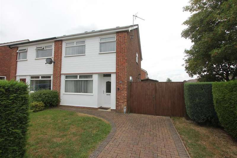 3 Bedrooms Semi Detached House for sale in Twycross Road, Burbage