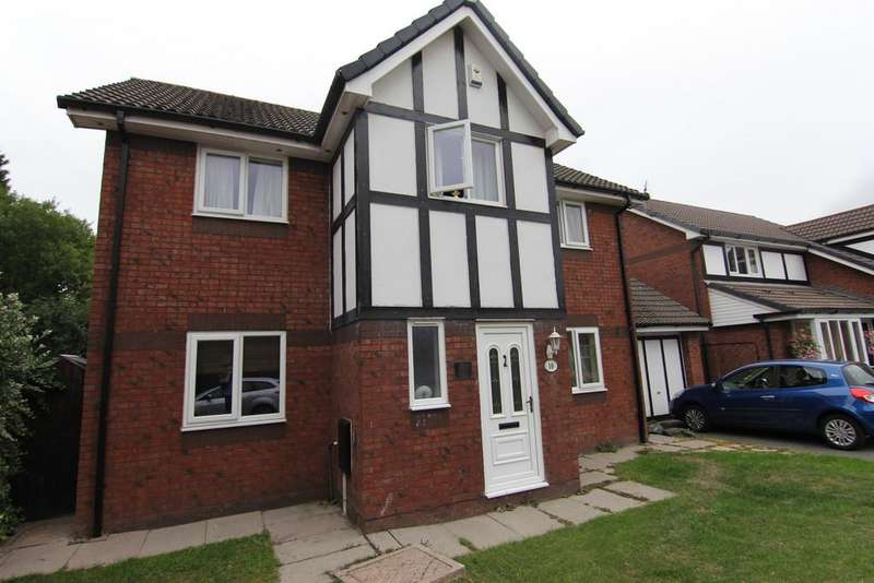 4 Bedrooms Detached House for sale in Chaffinch Close, Droylsden