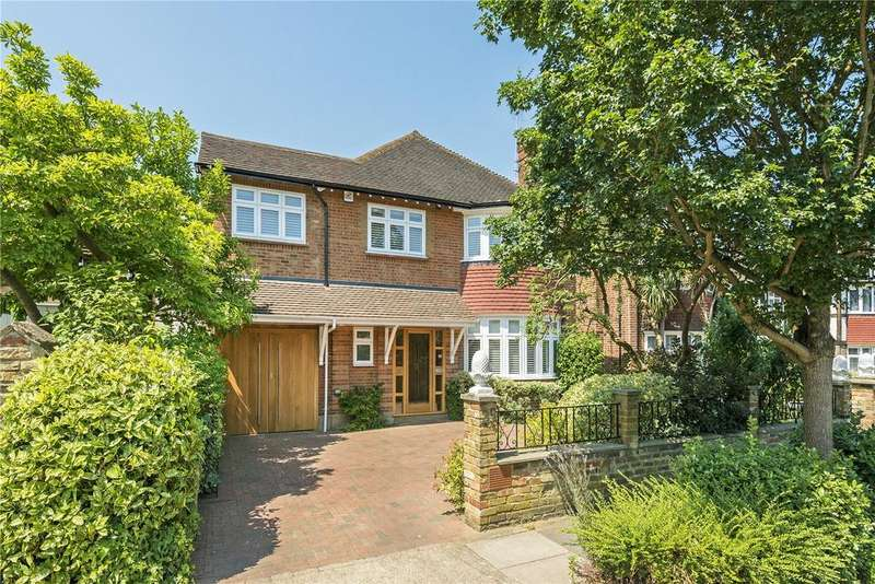 6 Bedrooms Detached House for sale in Berwyn Road, Richmond, Surrey, TW10